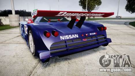 Nissan R390 GT1 1998 for GTA 4 back left view