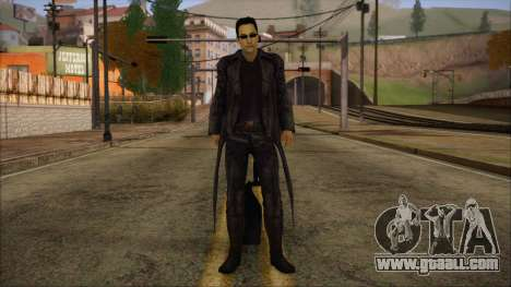 Neo Matrix Skin for GTA San Andreas