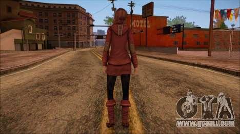 Modern Woman Skin 10 v2 for GTA San Andreas second screenshot