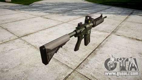 Machine M4A1 for GTA 4 second screenshot