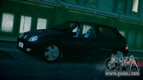 Citroen Saxo for GTA 4 back left view