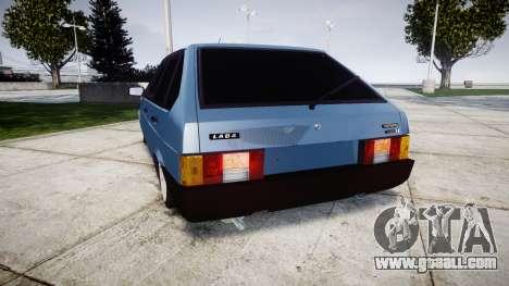 VAZ-Lada 2109 1500i for GTA 4 back left view