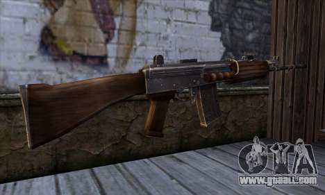 IOFB INSAS from Sniper Ghost Warrior 2 for GTA San Andreas second screenshot