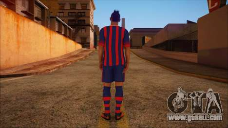 Neymar Skin for GTA San Andreas second screenshot