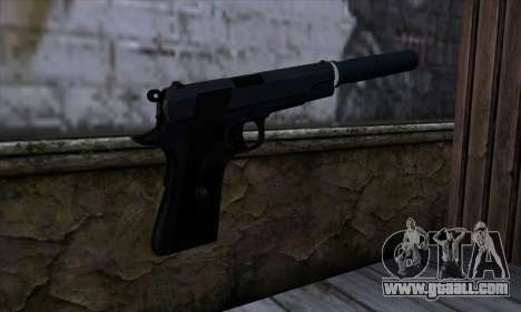 New Silenced Colt45 for GTA San Andreas second screenshot