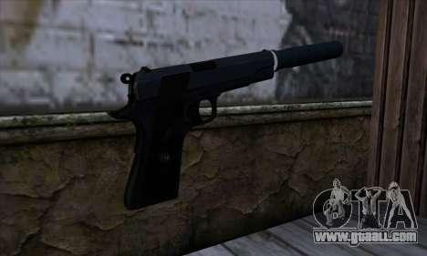 New Silenced Colt45 for GTA San Andreas second screenshot