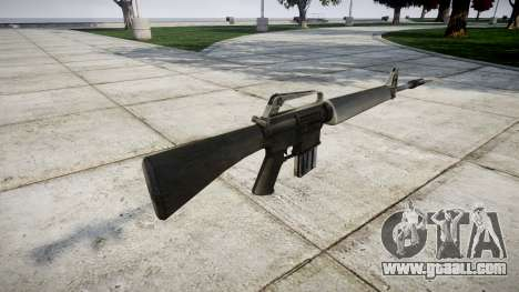 The M16A1 rifle for GTA 4 second screenshot