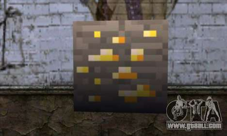 Block (Minecraft) v8 for GTA San Andreas