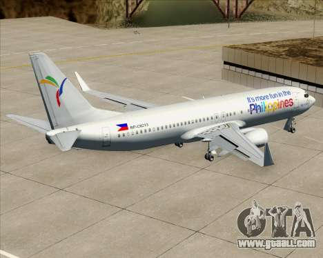 Boeing 737-800 South East Asian Airlines (SEAIR) for GTA San Andreas interior