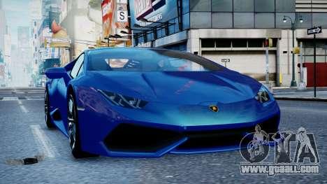 Lamborghini Huracan LP610-4 from Horizon 2 for GTA 4