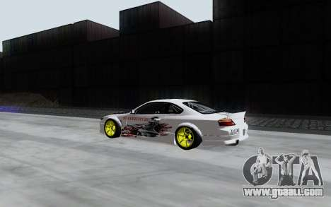 Nissan Silvia S15 VCDT for GTA San Andreas back left view