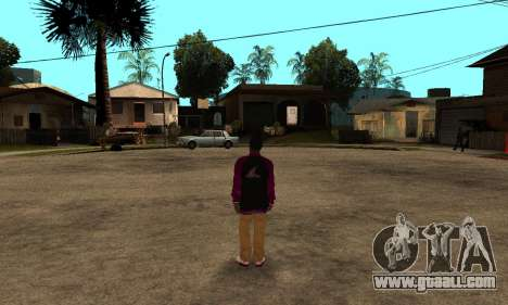 The Ballas Skin Pack for GTA San Andreas sixth screenshot