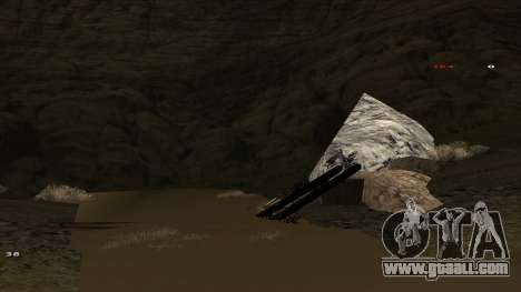 Трасса Offroad v1.1 by Rappar313 for GTA San Andreas fifth screenshot