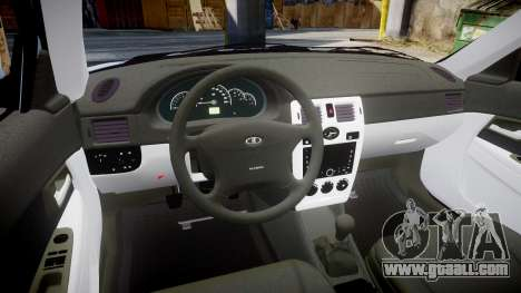 ВАЗ-Lada 2170 Priora light Bulb for GTA 4 inner view