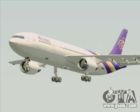 Airbus A300-600 Thai Airways International for GTA San Andreas