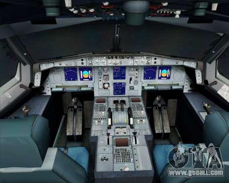 Airbus A340-300 Air Koryo for GTA San Andreas interior