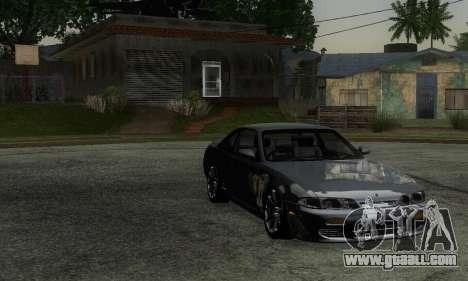 Nissan Silvia S14 Zenki Drift for GTA San Andreas