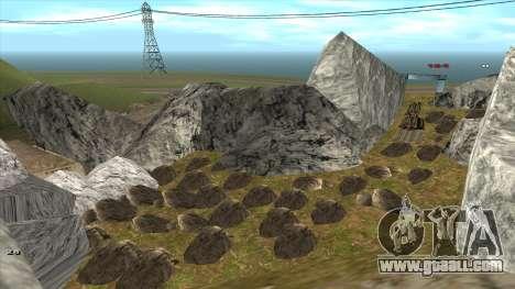 Трасса Offroad v1.1 by Rappar313 for GTA San Andreas tenth screenshot