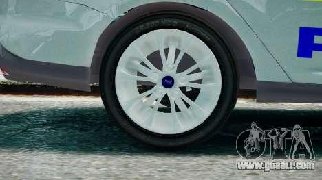 Met Police Ford Focus Estate IRV ELS 8 2013 for GTA 4 back left view