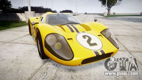 Ford GT40 Mark IV 1967 PJ 2 for GTA 4