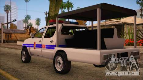 Toyota HiLux Philippine Police Car 2010 for GTA San Andreas left view