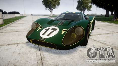 Ford GT40 Mark IV 1967 PJ 17 for GTA 4