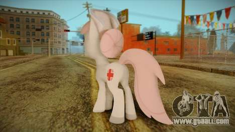 Nurseredheart from My Little Pony for GTA San Andreas second screenshot