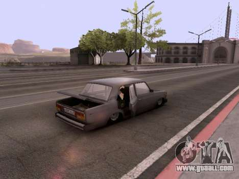 VAZ 2105 for GTA San Andreas side view