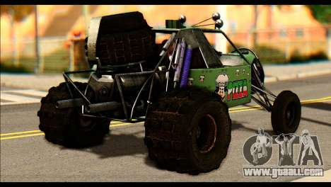 Buggy Fireball from Fireburst for GTA San Andreas left view