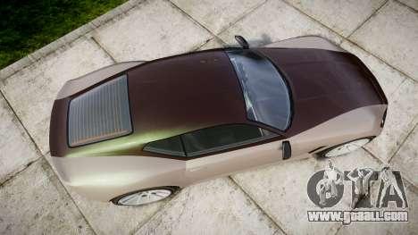 GTA V Lampadati Furore GT for GTA 4 right view
