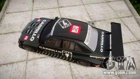 Mercedes-Benz 190E Evo II GT3 PJ 2 for GTA 4 right view
