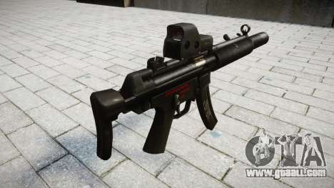 Gun MP5SD EOTHS CS for GTA 4 second screenshot