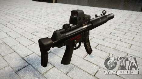 Gun MP5SD EOTHS CS for GTA 4 second screenshot