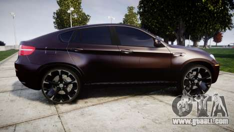 BMW X6M rims2 for GTA 4 left view