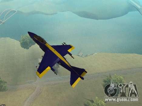 BlueAngels Hydra for GTA San Andreas