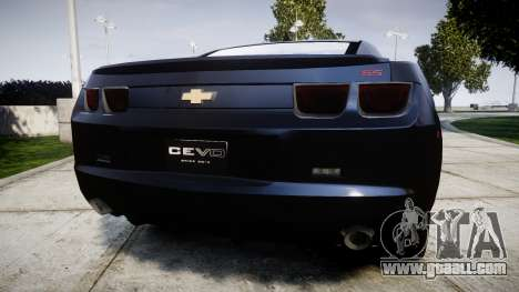 Chevrolet Camaro SS [ELS] Unmarked interceptors for GTA 4 back left view