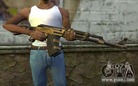 AK47 from PointBlank v1 for GTA San Andreas third screenshot