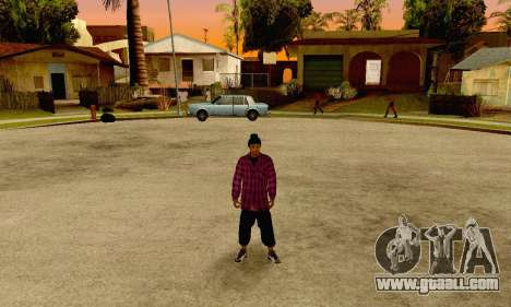 The Ballas Gang Skin Pack for GTA San Andreas fifth screenshot