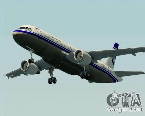 Airbus A320-200 CNAC-Zhejiang Airlines for GTA San Andreas engine
