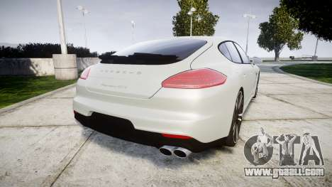 Porsche Panamera GTS 2014 for GTA 4 back left view