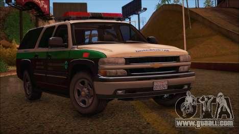 Tierra Robada Armed Forces Border Patrol for GTA San Andreas