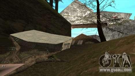 Трасса Offroad v1.1 by Rappar313 for GTA San Andreas sixth screenshot