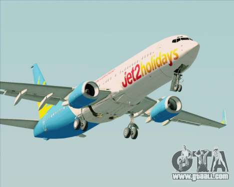 Boeing 737-800 Jet2Holidays for GTA San Andreas left view
