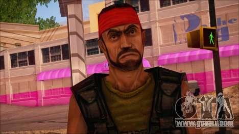 Guerilla from Counter Strike Condition Zero for GTA San Andreas third screenshot