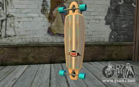 Longboard for GTA San Andreas second screenshot