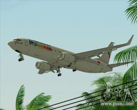 Boeing 737-800 South East Asian Airlines (SEAIR) for GTA San Andreas back left view