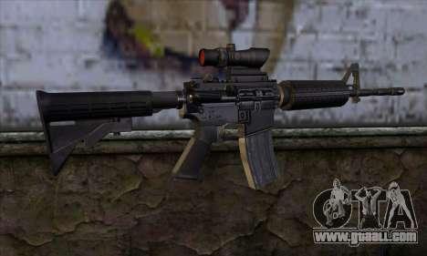 M4 Carbine ACOG for GTA San Andreas second screenshot