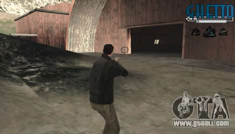 C-HUD Ghetto for GTA San Andreas third screenshot