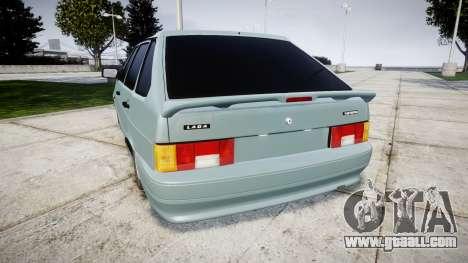 VAZ-2114 Samara-2 for GTA 4 back left view