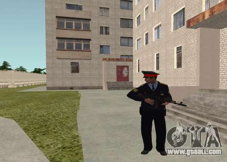 Sergeant police for GTA San Andreas